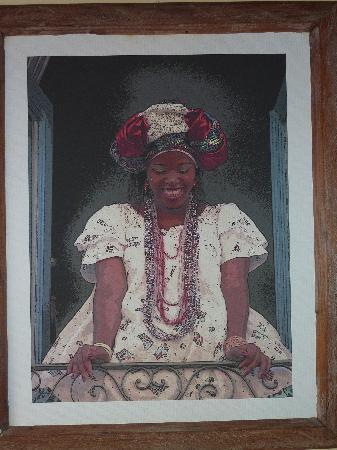 Pousada do Pilar: Le joli tableau dans notre chambre