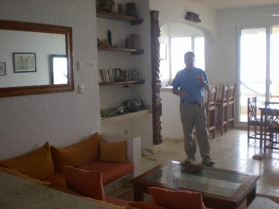 Hacienda de la Tortuga: #12 living area