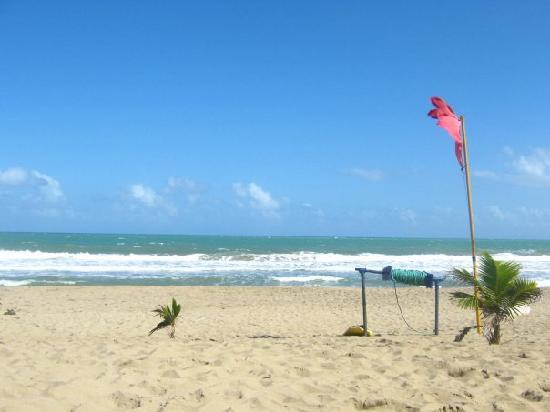 Hotel Celuisma Cabarete: This is the hotel beach...heavenly