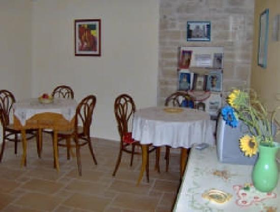 Ruvo Di Puglia, Italie : stanza per le colazioni