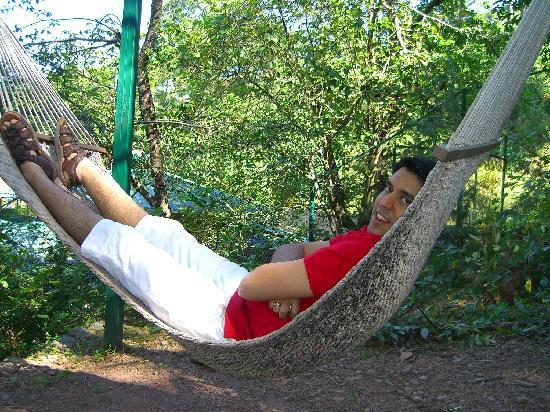 Baikunth Resort Kasauli: the relaxing hammock at baikunth
