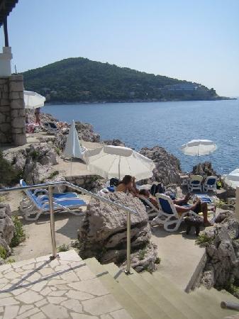 Importanne Resort Dubrovnik The Cliff Rock Beach