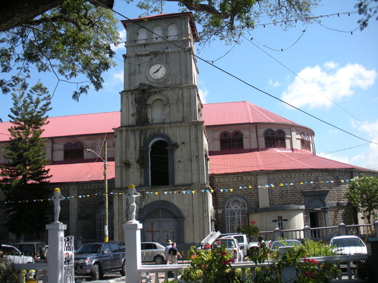 Castries, Sta. Lucía: church