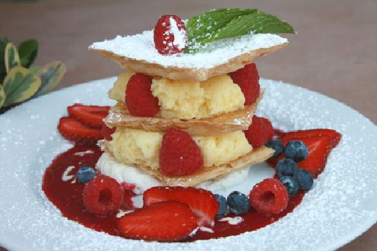Lemon Mousse Napoleons Recipe — Dishmaps