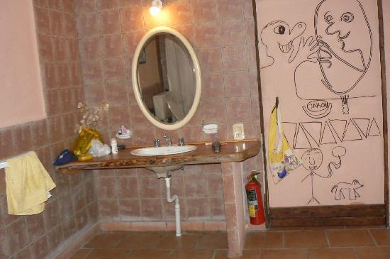 La Casona de Odile: Sala de bano