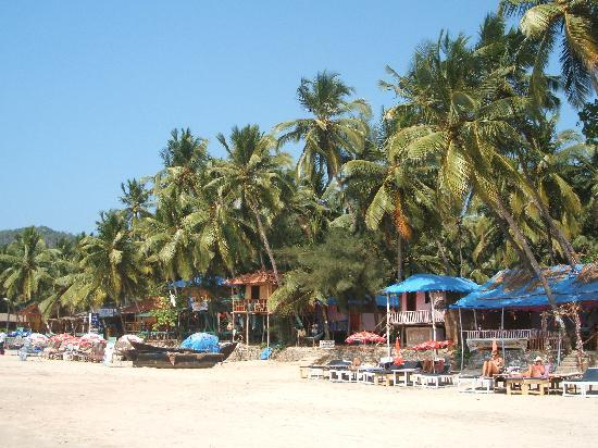 Palolem Beach Resort: Playa de Palolem