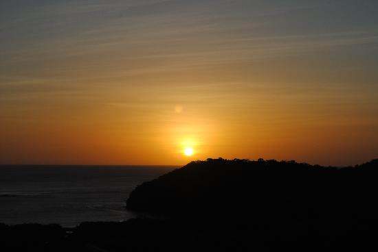 El Jardin Hotel: We got to watch the sun set over the Pacific Ocean every night.