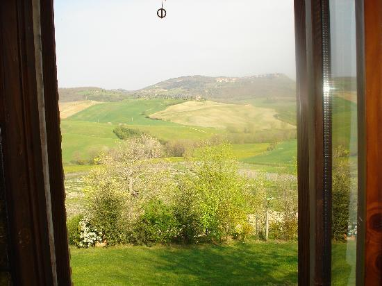 Agriturismo San Gallo: pasture below San Gallo