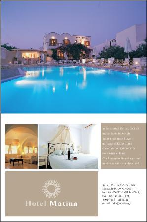 Hotel Matina Santorini - Hotel in Santorini