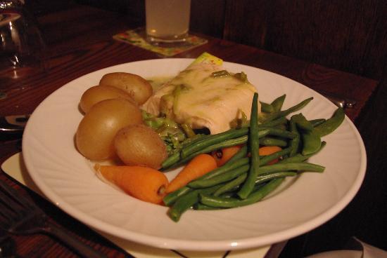 Cart and Horses: Salmon & Asparagus