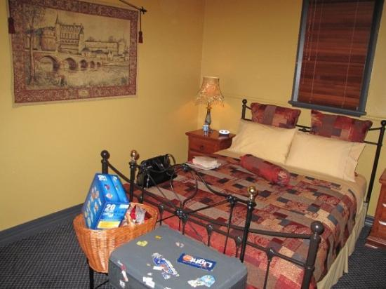Gundagai, Australia: Bedroom at The Church B&B