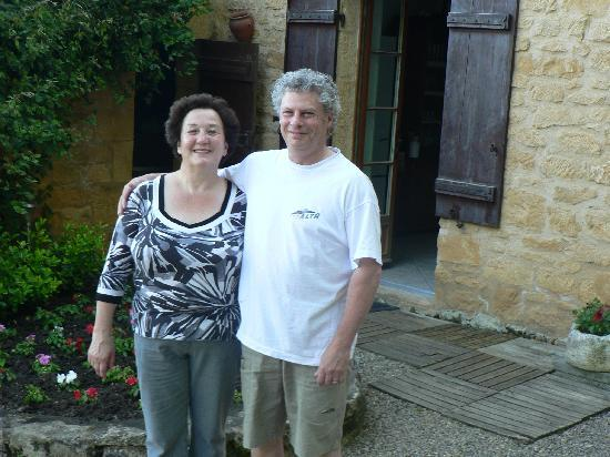 Beynac-et-Cazenac, ฝรั่งเศส: Our Hosts Jean-Claude and Franciose