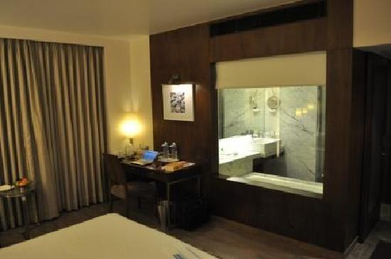 cb6435b3732 Desk / Ensuite - Picture of St Laurn Business Hotel, Pune - TripAdvisor