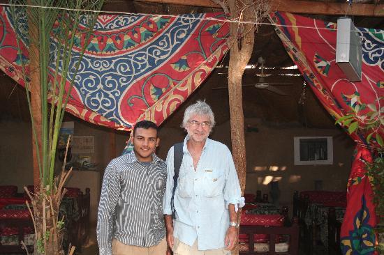 Nur el-Gurna Hotel: gente muy calida
