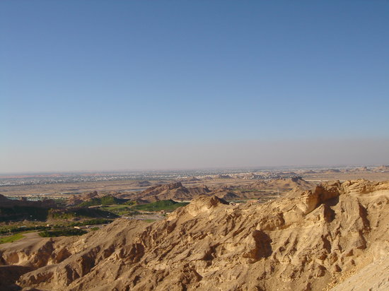 Al Ain, Förenade Arabemiraten: 砂漠が見渡せます!