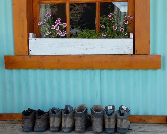 Cabanas La Loma: Front porch of cabana