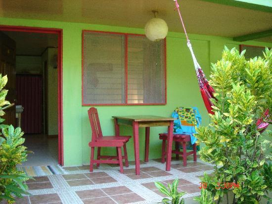 Hotel Blue Conga: patio