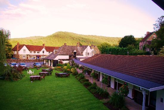 Tintern, UK: The view from my balcony room