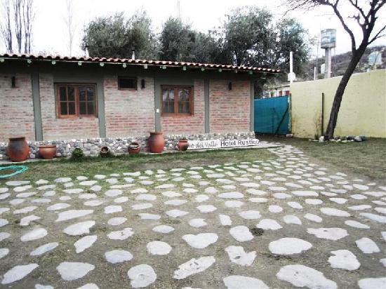 Cerro Del Valle Hotel Rustico: Frontside