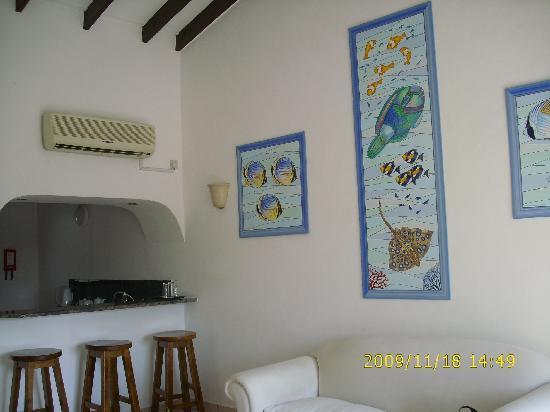 Coco d'Or Hotel & Restaurant : le salon