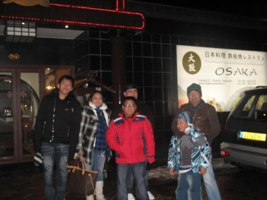 Dinner @ Osaka Resto Tepanyaki, Hilversum- 25 Dec 09