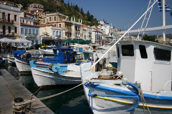 Gytheio, Grèce : Hafen von Gythio