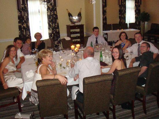 Bunratty Manor Hotel: Reception Meal 2