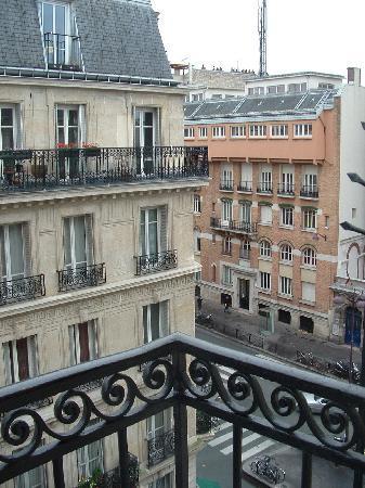 โรงแรมนิวแคนดิเด: vista desde el balcon del hotel
