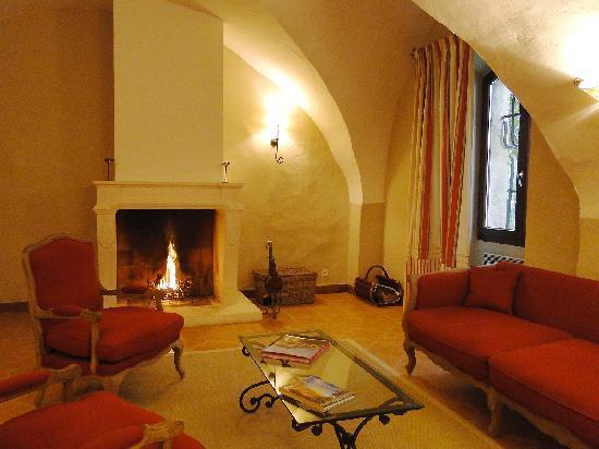 Le Relais du Grand Logis : living room