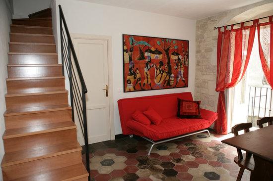B&B Al Cortiletto: soggiorno bilocale