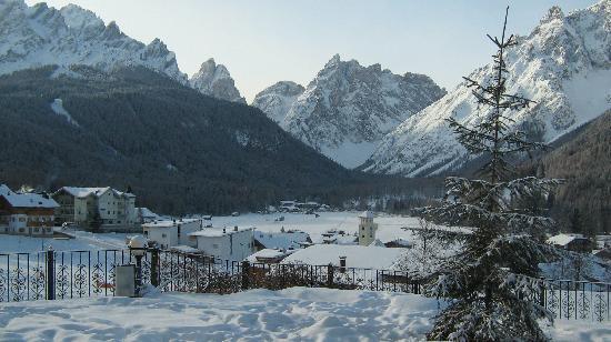 Sesto, Italy: vista dal ristorante