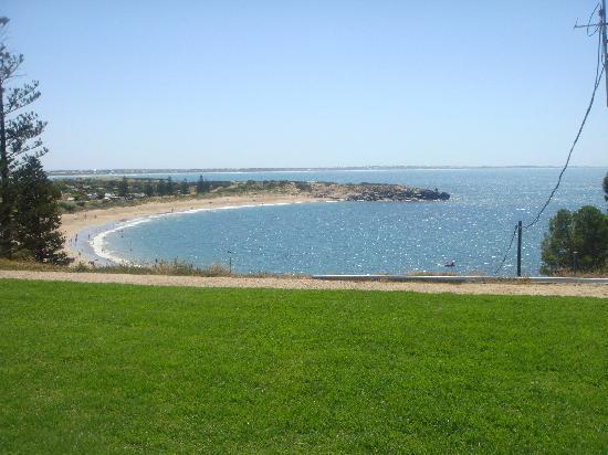 Port Elliot Beach House YHA: Wonderful view every morning