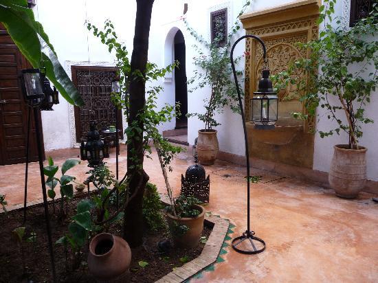 Dar Nouba : view of part of the courtyard