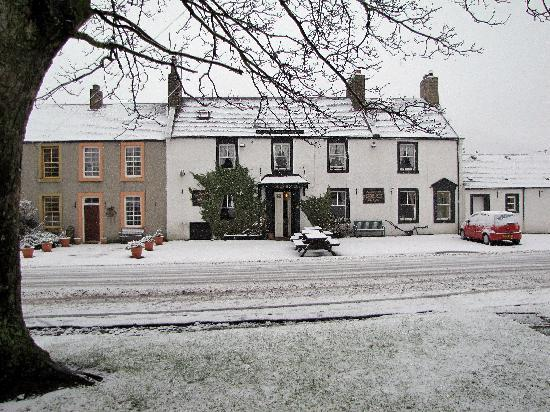 The Plough Hotel: a snowy day