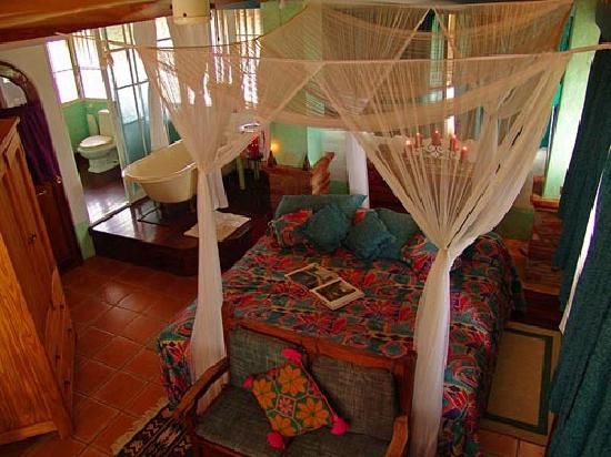 La Cruz de Huanacaxtle, Mexiko: Palapa suite, romantic!