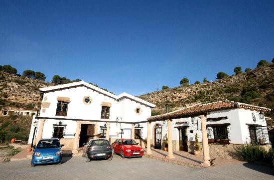 Hotel Hacienda Puerto de las Muelas: Haupthaus - Nebengebäude mit Frühstücksraum