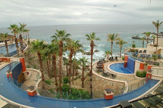Welk Resorts Sirena Del Mar: View of Blue Ocean from the Lobby