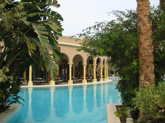 The Makadi Palace Hotel: Restaurant Dome, our breakfast place =)