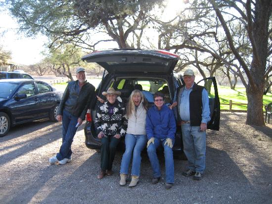 Patagonia, AZ: 5 Friends had a great time
