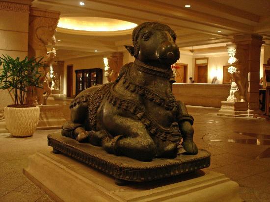 The Leela Goa : The lobby