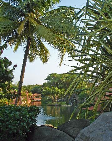 The Leela Goa : The lagoons