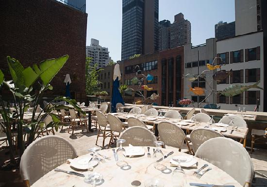 Pampano New York : Terrace