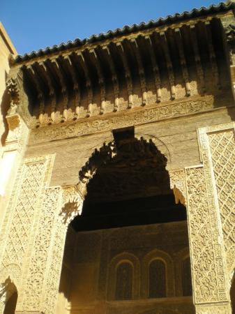 Saadian Tombs: Mmmmm, blue skies and great architecture.