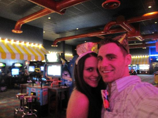 Dave & Buster's: in the game room