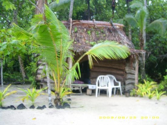 Apia, Samoa: our lovley fale no. 4