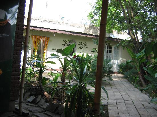 Mr. Martins Cozy Place : front garden area