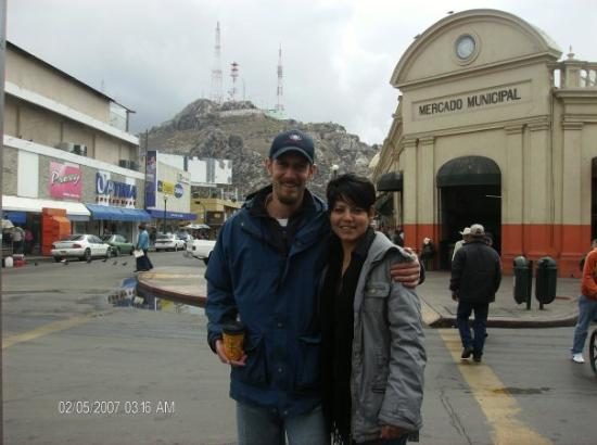 Hermosillo, México: Me and Suilma... Harley we have been here before!