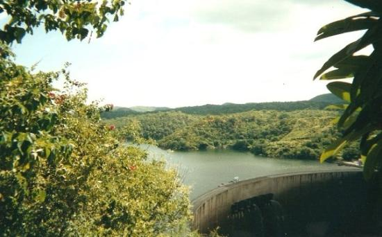 Kariba Dam, they had just closed it. Ita was the first time in 20 years that they had opened it