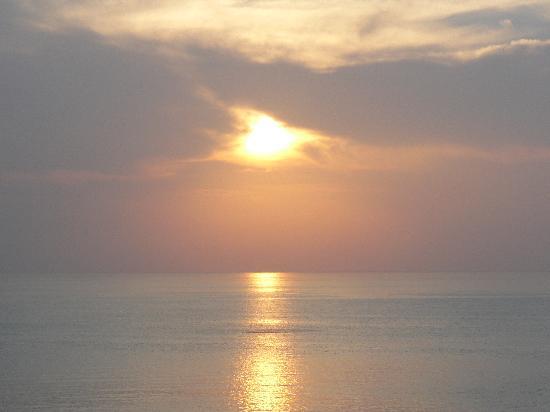 Sheraton Bijao Beach Resort - All-Inclusive : coucher du soleil