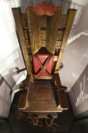 National Museum of Crime & Punishment: Tennesse Electric Chair